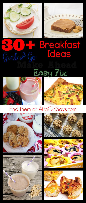 Quick And Easy Breakfast Ideas  Maple Nut Goo Toast & 30 Quick Breakfast Recipes Atta Girl Says
