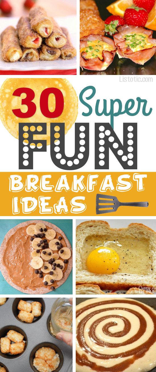Quick And Easy Breakfast Ideas  30 Super Fun Breakfast Ideas Worth Waking Up For easy recipes for kids & adults
