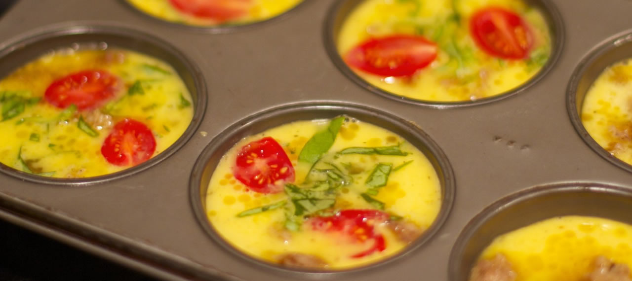 Quick And Healthy Breakfast  Egg Muffins Recipe for Quick Healthy Breakfast & Lunches