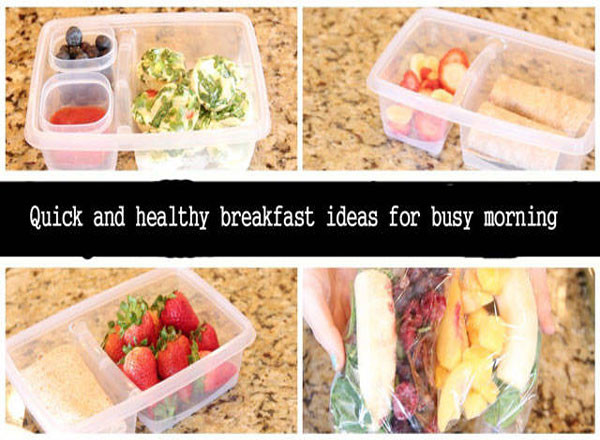 Quick And Healthy Breakfast  Quick And Healthy Breakfast Ideas For Busy Morning