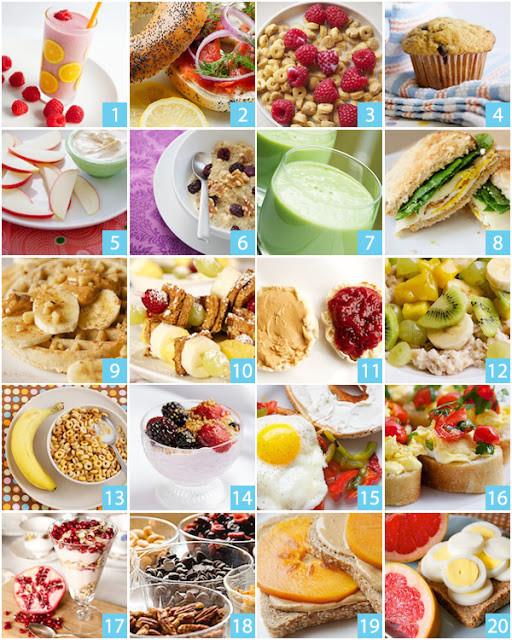 Quick And Healthy Breakfast  Fancy Napkin Healthy Breakfast