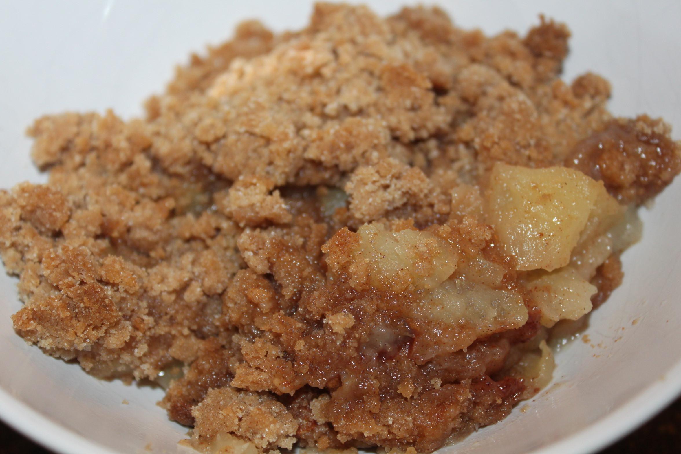 Quick Apple Dessert  Grandma's Quick and Easy Apple Crisp Recipe – ly 5