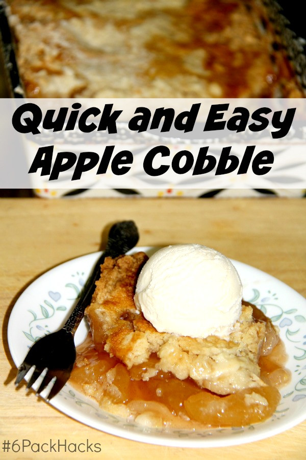Quick Apple Dessert  Quick and Easy Apple Cobbler Recipe The Spring Mount 6 Pack