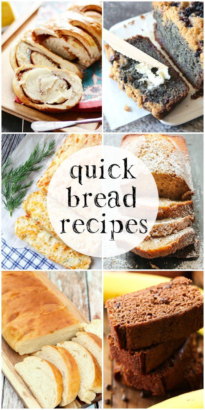 Quick Bread Recipe  Quick Bread Recipes