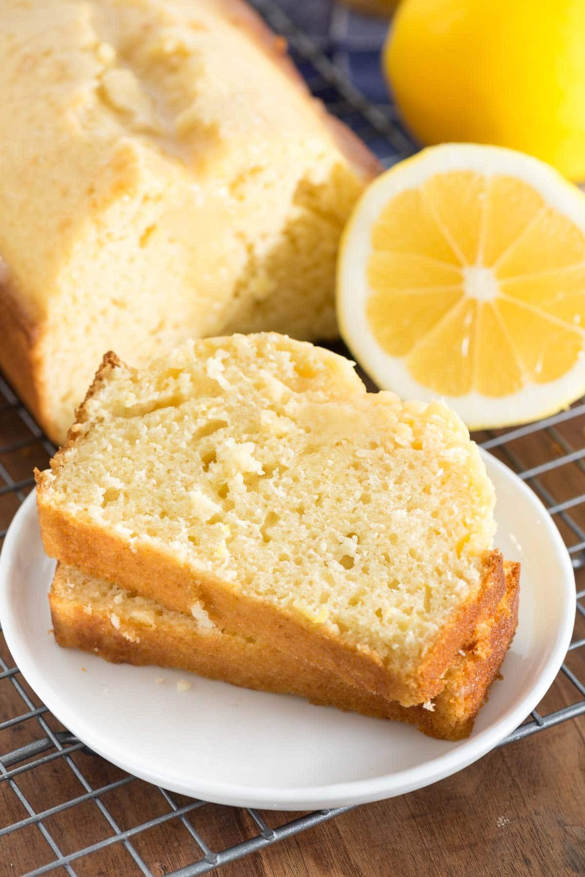 Quick Bread Recipe  Lemon Quick Bread Crazy for Crust