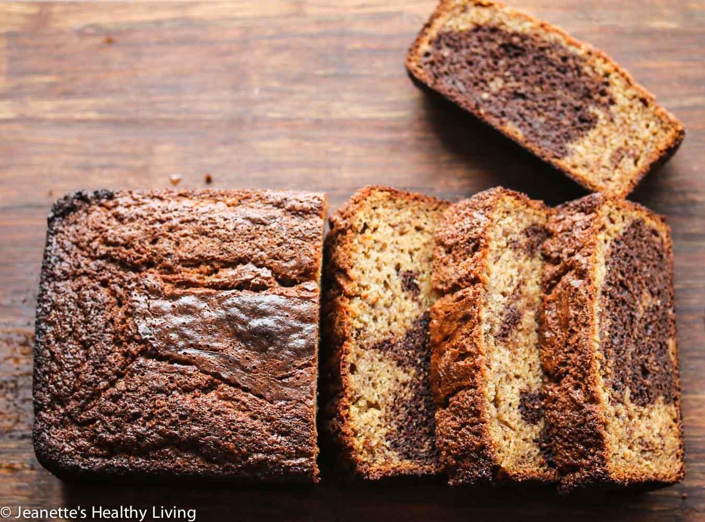 Quick Bread Recipes  Gluten Free Marbled Chocolate Banana Quick Bread Recipe