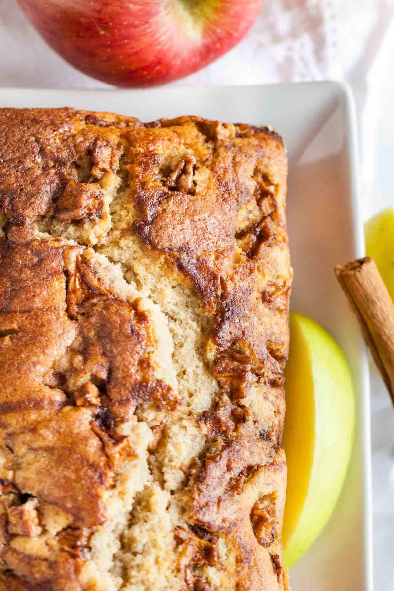 Quick Bread Recipes  Apple Cinnamon Bread Recipe An easy fall quick bread recipe
