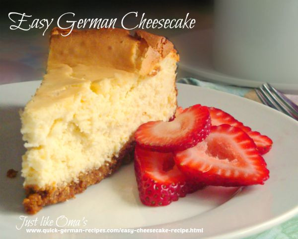 Quick Cheesecake Recipe  Easy Cheesecake Recipe made Just like Oma ️ ️