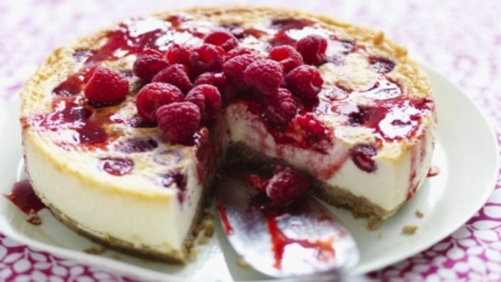 Quick Cheesecake Recipe  Quick cheesecake recipes uk Food cake recipes