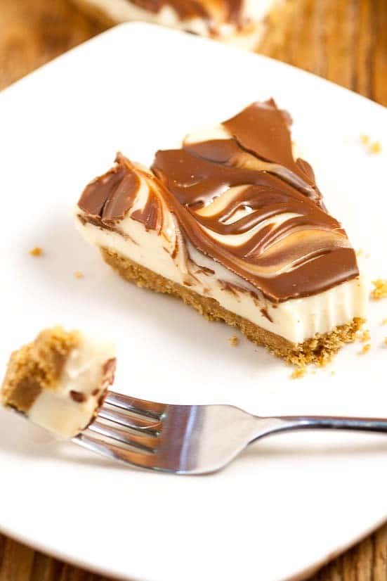 Quick Cheesecake Recipe  No Bake S mores Cheesecake