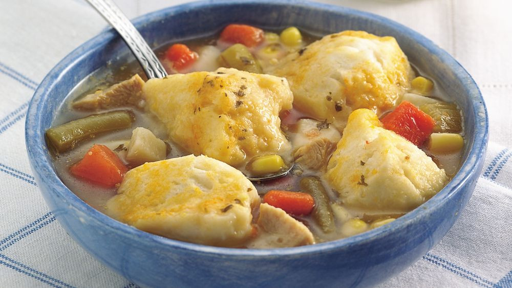 Quick Chicken And Dumplings  Easy Chicken and Dumplings for Two recipe from Pillsbury