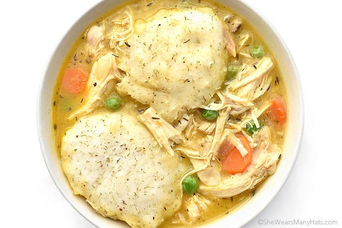 Quick Chicken And Dumplings  Easy Chicken and Dumplings Recipe