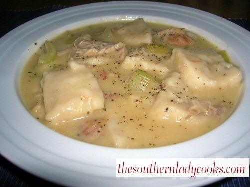 Quick Chicken And Dumplings  CHICKEN AND DUMPLINGS EASY RECIPE The Southern Lady Cooks
