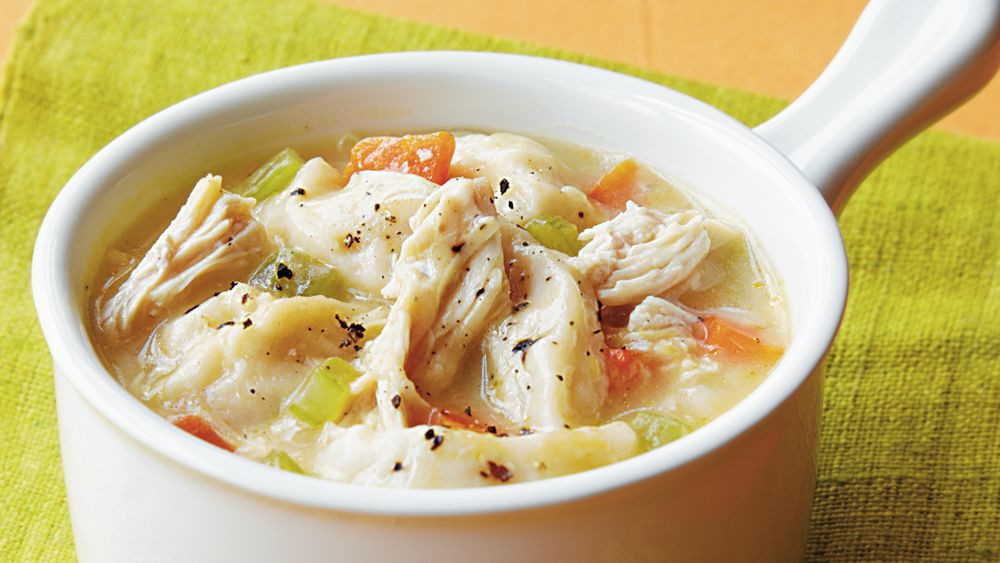 Quick Chicken And Dumplings  Easy Chicken and Dumplings recipe from Pillsbury