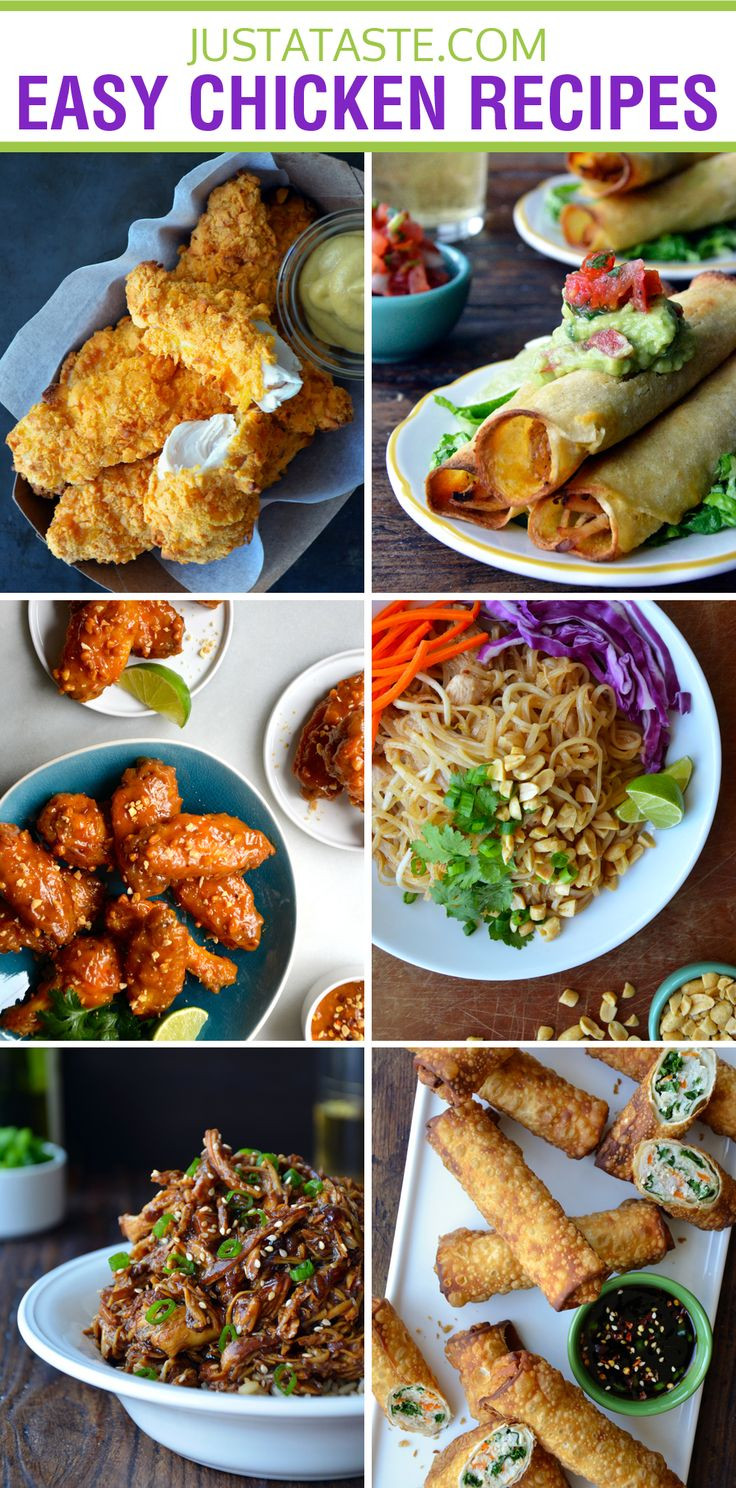 Quick Chicken Dinner  Quick and Easy Chicken Recipes
