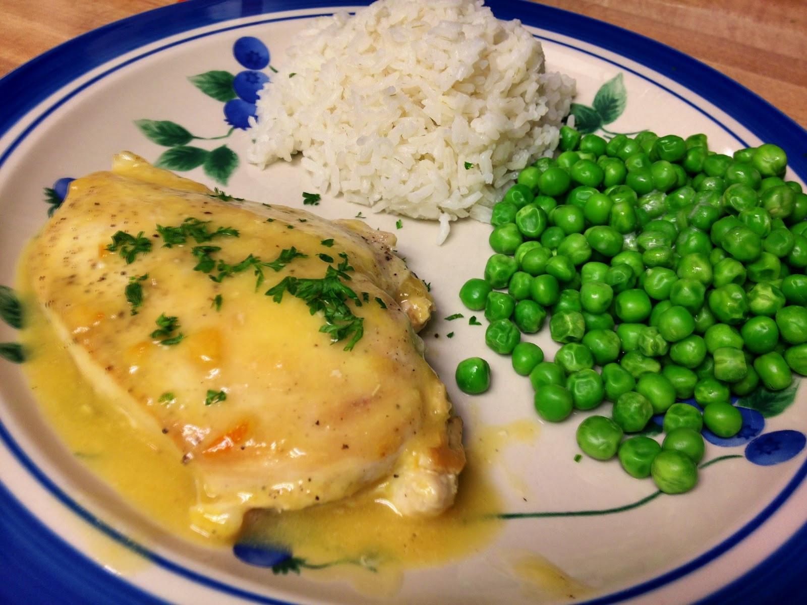 Quick Chicken Dinner  Sunday dinner for two Recipe Quick Orange Glazed Chicken