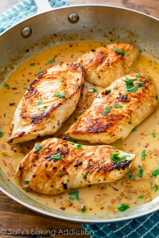 Quick Chicken Dinners  Quick Dinner Skillet Chicken with Creamy Cilantro Lime
