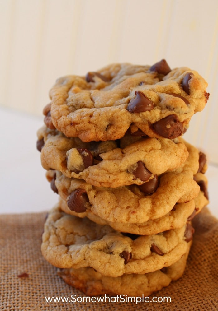 Quick Chocolate Chip Cookies  Easy Chocolate Chip Cookies Somewhat Simple