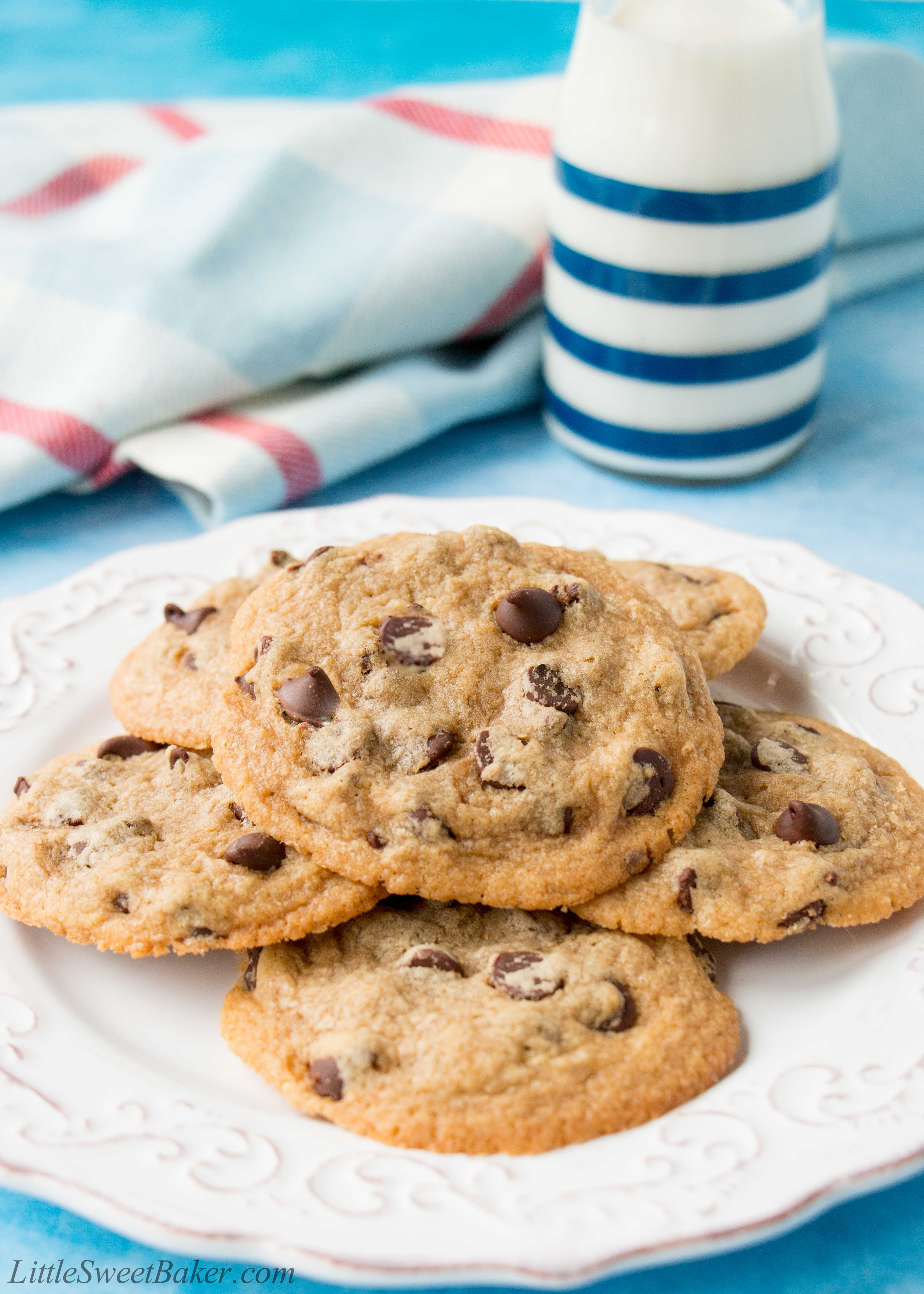 Quick Chocolate Chip Cookies  Easy Chocolate Chip Cookies video Little Sweet Baker