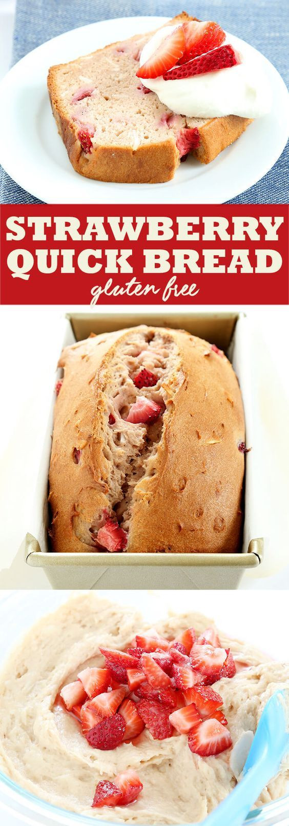 Quick Gluten Free Desserts  237 best images about Gluten Free Bread Recipes on Pinterest