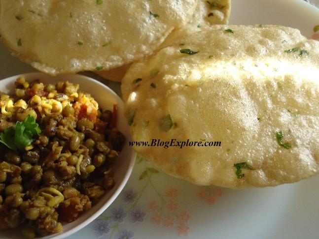Quick Indian Breakfast Recipes  blogexplore methi poori fenugreek puri Blogexplore
