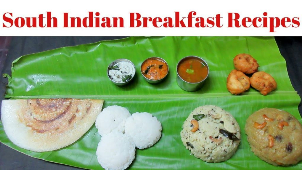 Quick Indian Breakfast Recipes  South Indian breakfast recipes in Tamil