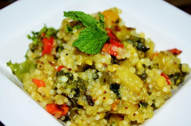 Quick Indian Breakfast Recipes  Tapioca pearls Sabudana Upma Recipe