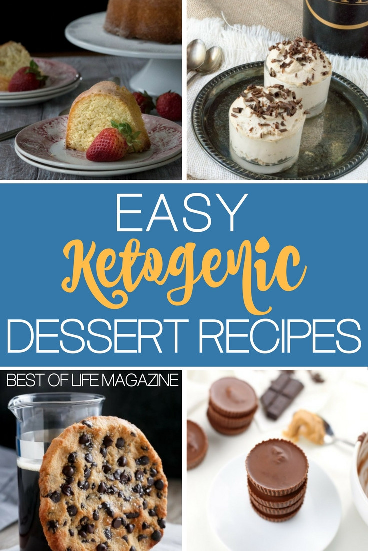 Quick Keto Desserts  Easy Keto Dessert Recipes to Diet Happily The Best of