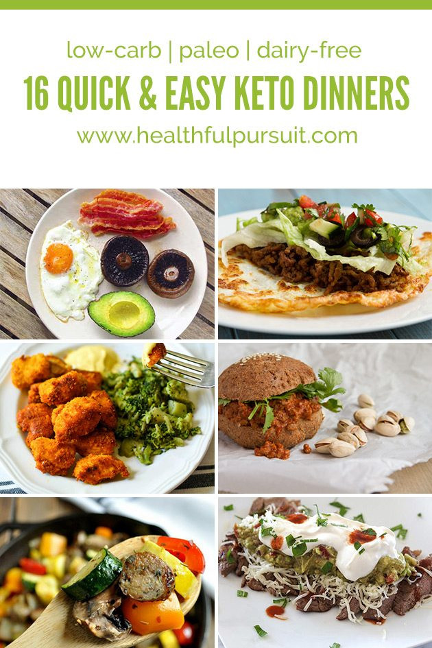 Quick Keto Dinner  16 Quick and Easy Keto Dinners