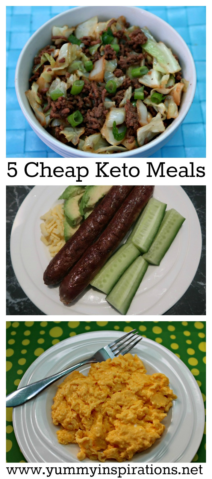 Quick Keto Dinner  5 Cheap Keto Meals Low Carb Keto Diet Foods A Bud