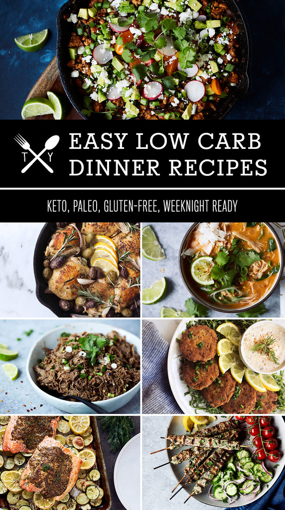 Quick Low Carb Dinners  70 Easy Low Carb Keto Dinner Recipes Tasty Yummies