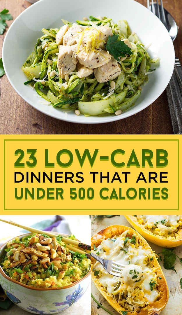 Quick Low Carb Dinners  23 Low Carb Dinners Under 500 Calories That Actually Look