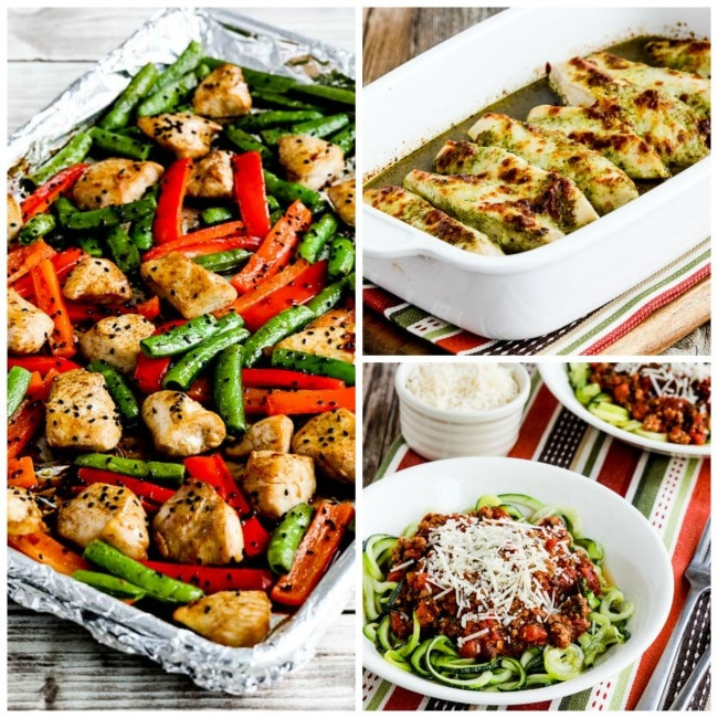 Quick Low Carb Dinners  My Favorite Quick and Easy Low Carb Dinners Kalyn s Kitchen