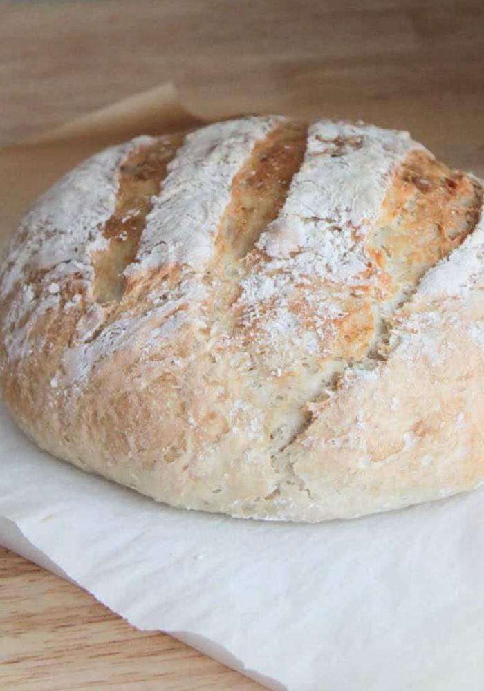 Quick No Knead Bread  No Knead Bread Quick and Easy Crusty Artisan Bread Recipe