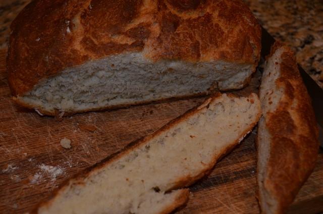 Quick No Knead Bread  Quick Crusty No Knead Bread – Nature and Life Notes