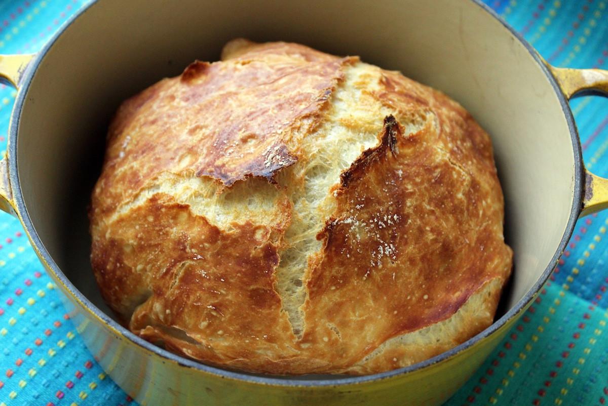 Quick No Knead Bread  Homemade Artisan Bread Recipe Quick No Knead Bread