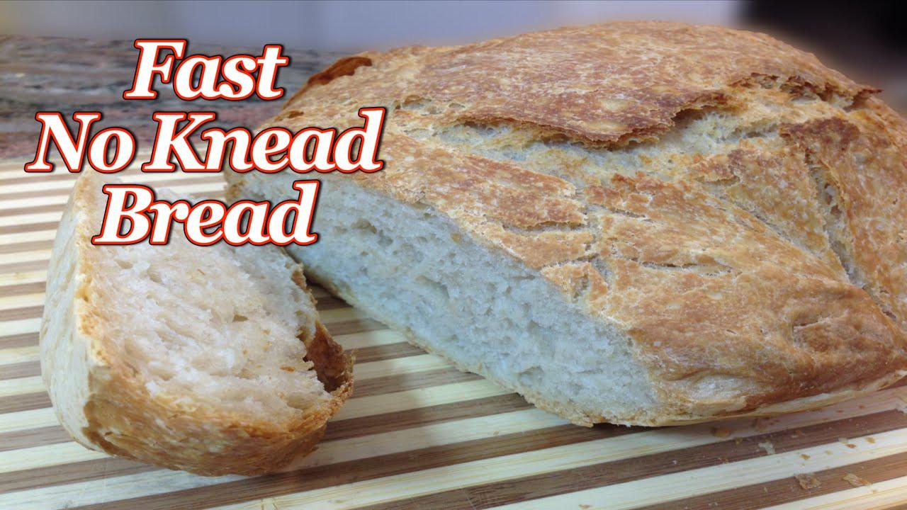 Quick No Knead Bread  Fast No Knead Bread