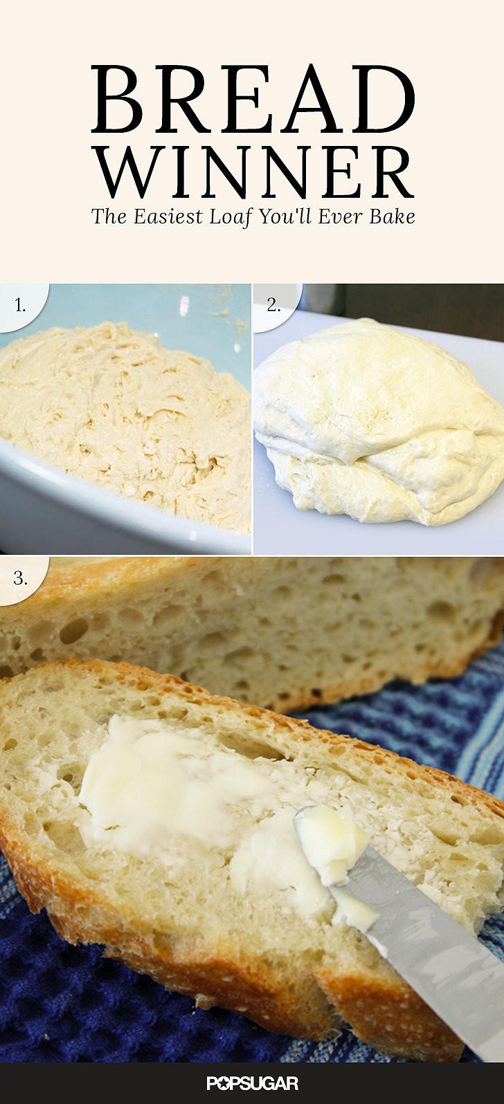 Quick No Knead Bread  Fast No Knead Bread Recipe