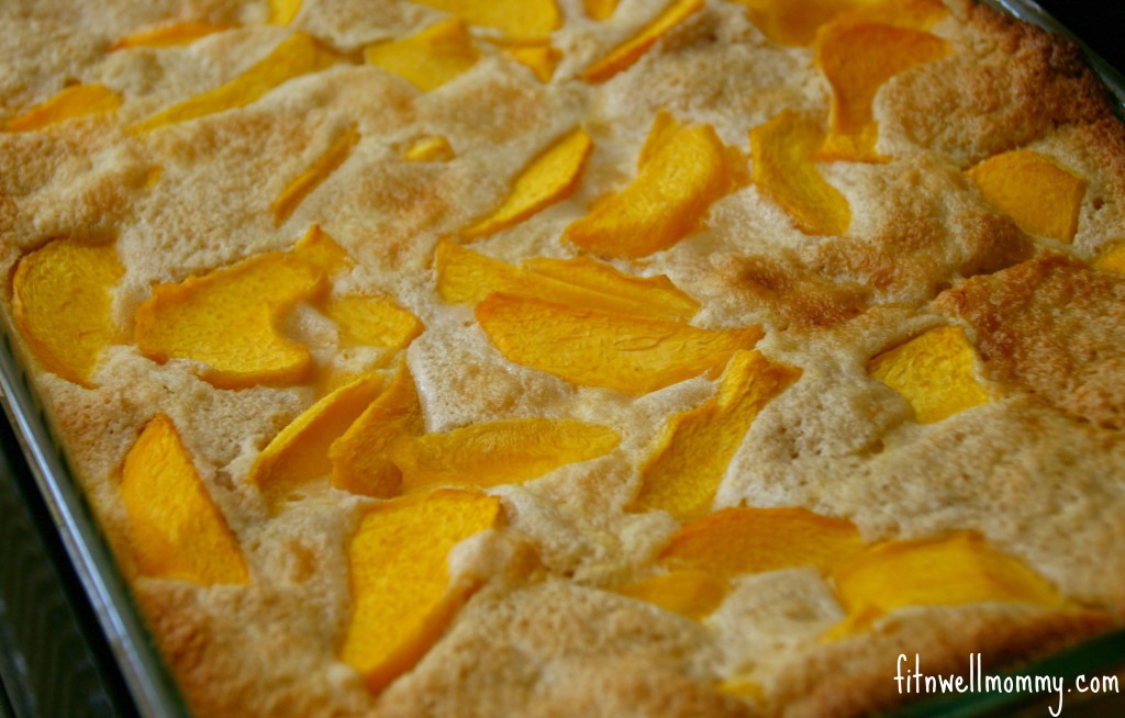 Quick Peach Dessert  Quick and Easy Peach Cobbler Made With Oat Flour