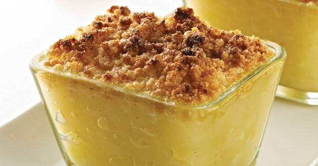 Quick Pear Dessert  Marc Fosh s pear apple and ginger crumble Recipe