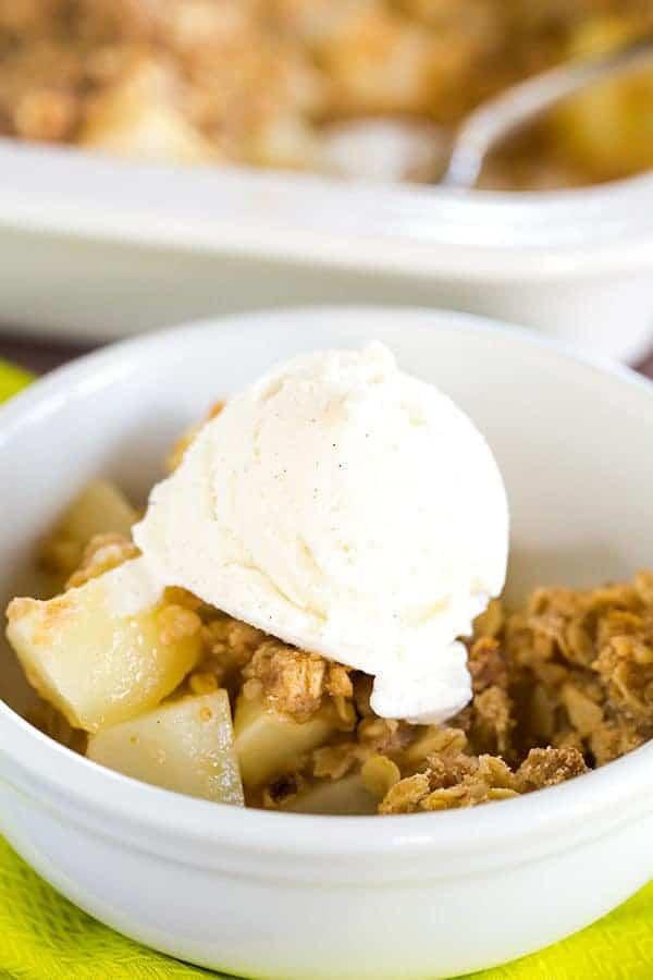 Quick Pear Dessert  Pear Crisp