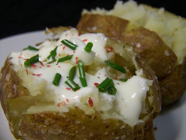 Quick Potato Recipes  Quick Baked Potatoes Recipe Food