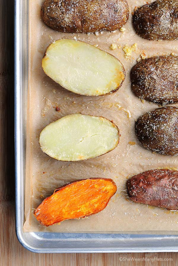 Quick Potato Recipes  Quick Baked Potatoes