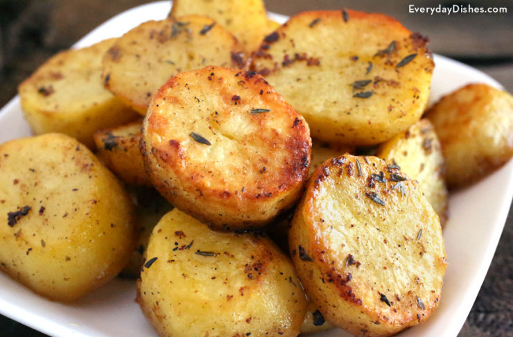 Quick Potato Recipes  Quick and Easy Melting Potatoes Recipe