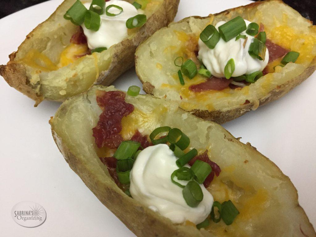 Quick Potato Recipes  Quick Potato Skins Recipe