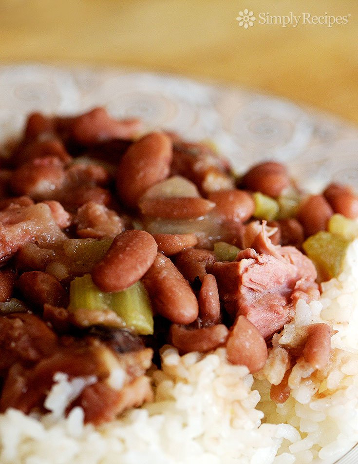 Quick Red Beans And Rice Recipe  Red Beans and Rice Recipe