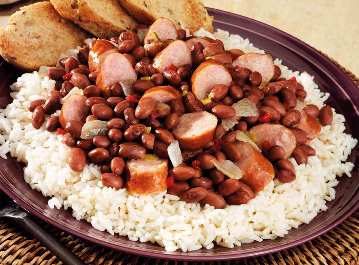 Quick Red Beans And Rice Recipe  Quick Red Beans and Rice Recipe