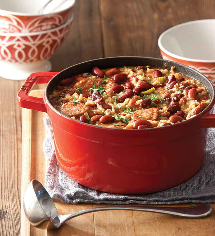Quick Red Beans And Rice Recipe  Red Beans and Rice Taste of the South Magazine
