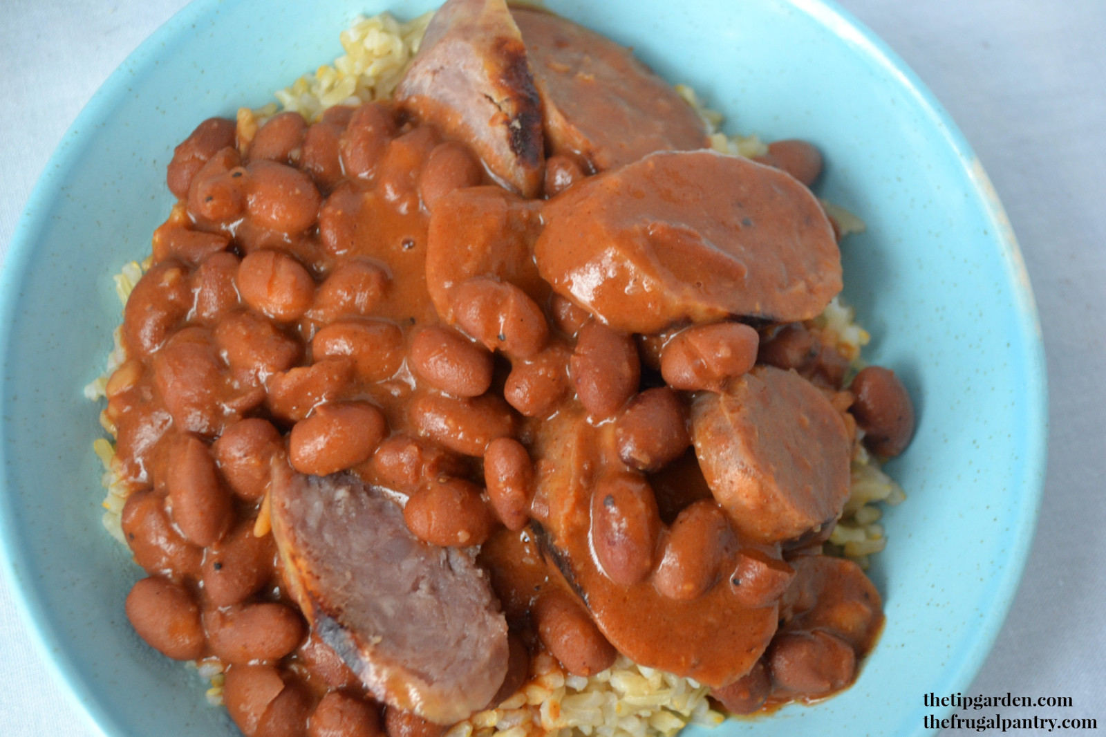 Quick Red Beans And Rice Recipe  TIP GARDEN Quick Red Beans & Rice