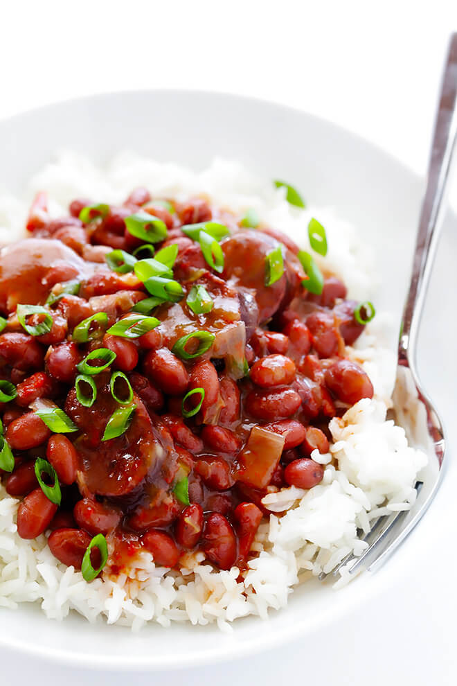 Quick Red Beans And Rice Recipe  Crock Pot Red Beans and Rice